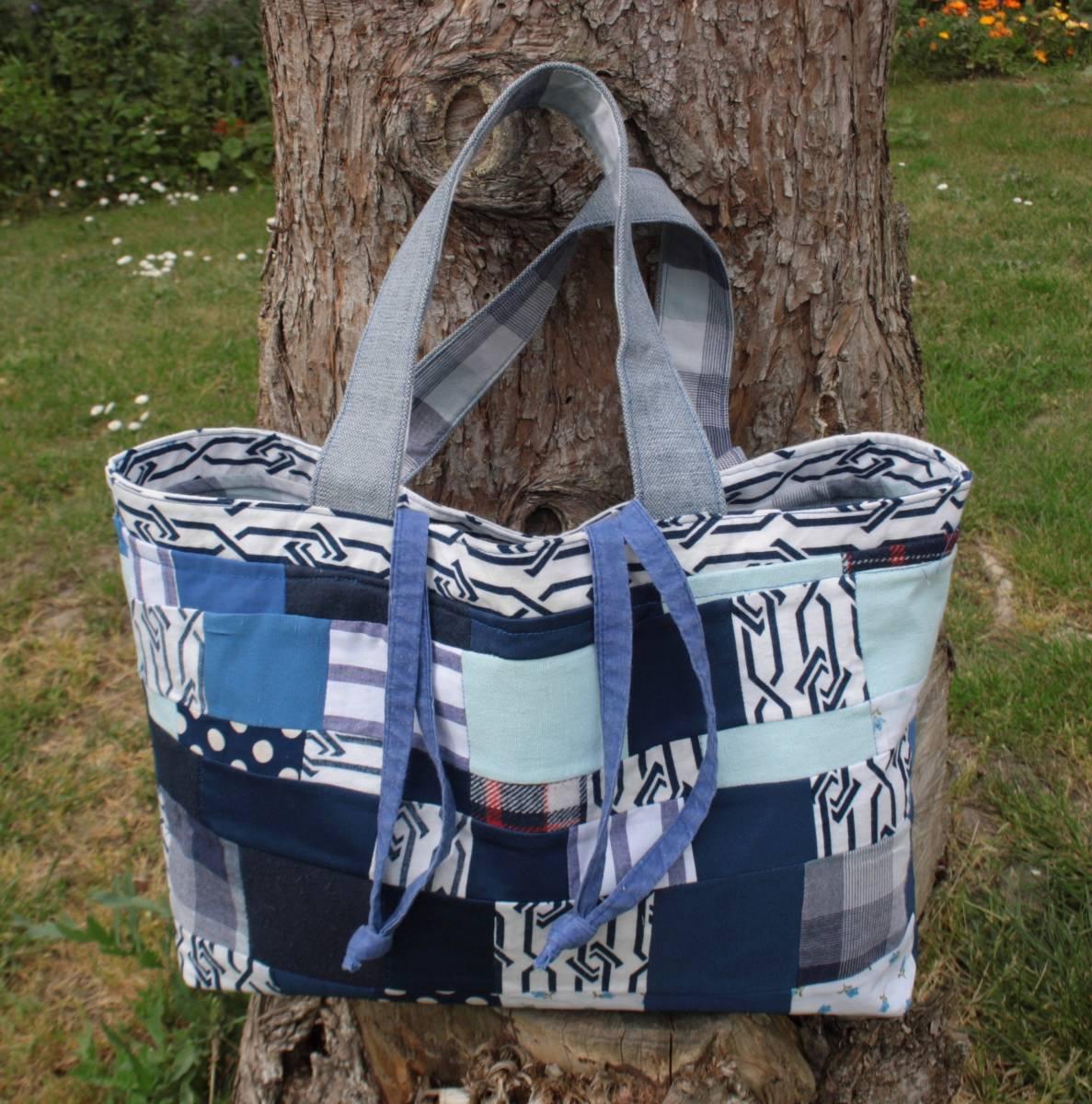 sac de picnic patchwork