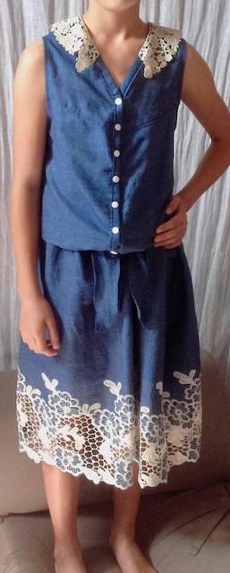 Robe d'été fille