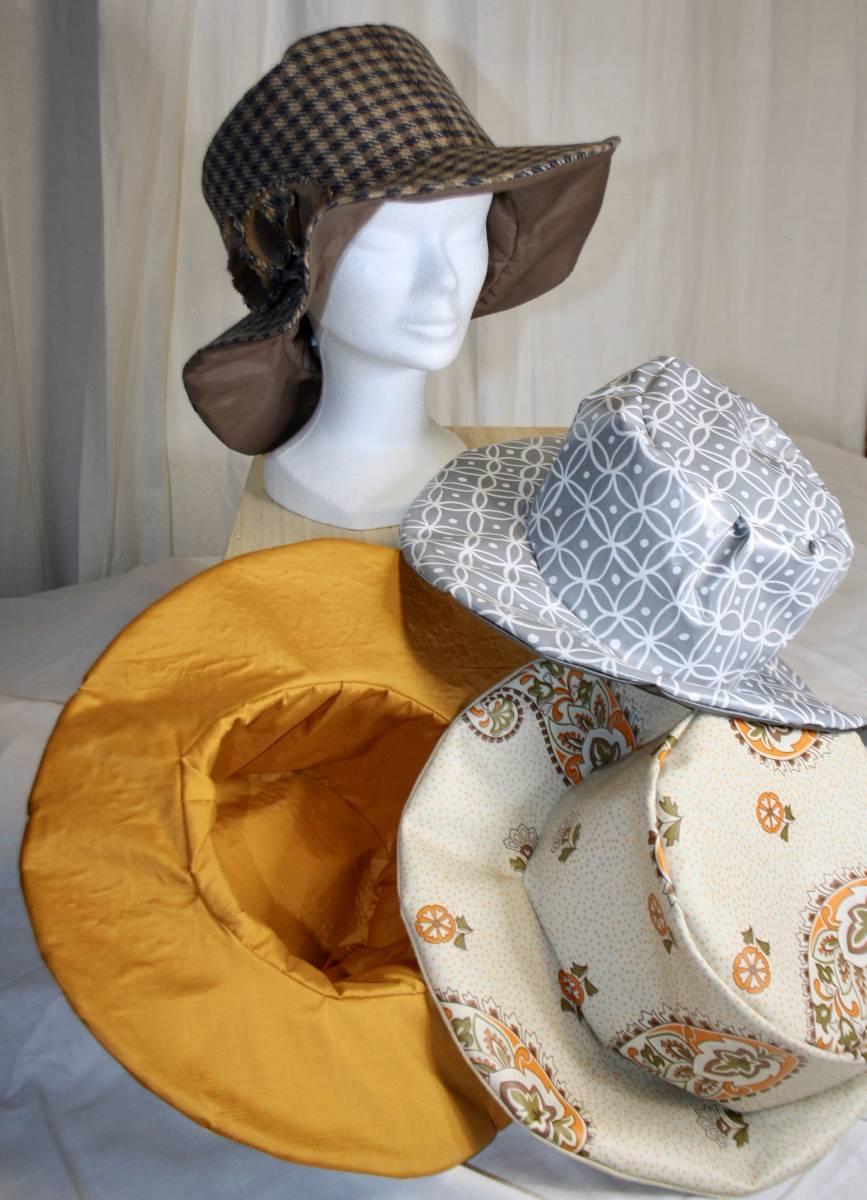 Les Chapeaux Honfleur - Tissu issue de récupe