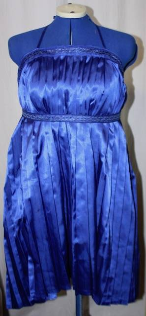 Transformation jupe en robe